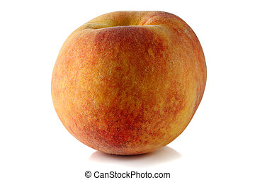 Sweet, ripe peach