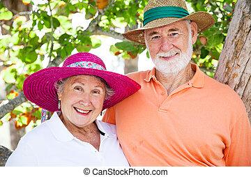 Sweet Senior Couple