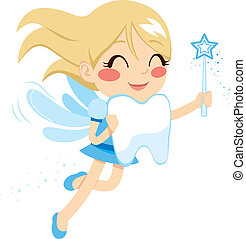 Sweet Tooth Fairy - Beautiful sweet blonde tooth fairy girl...