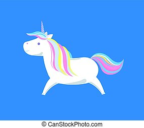 Sweet Unicorn from Legend, Mysterious Fairy Horse