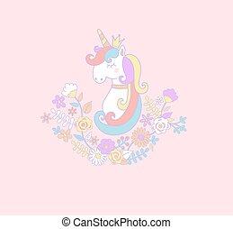 Sweet unicorn princess.