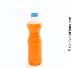 Sweet water in a plastic bottle