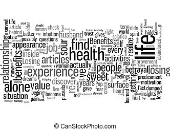 Sweeten Up Your Life text background wordcloud concept
