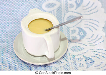 sweetened condensed milk for coffee