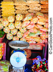 Sweets at Asian market
