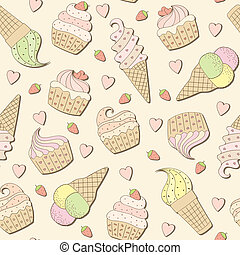 Sweets background.