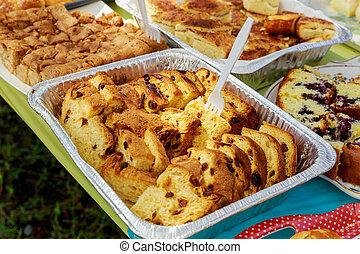 sweets., colorful., egyezség, dekoráció, finom, pazar, esemény