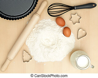 sweets preparation - utensils food preparation  and sweets
