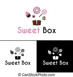 sweetshop, confitería, pastel, tienda, rosquillas, postres,...