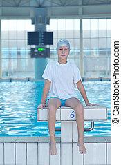 swimmer athlete