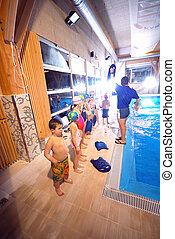 .swimming, 학교