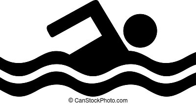 Swimming Pictogram