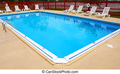 Swimming pool - Empty swimming pool