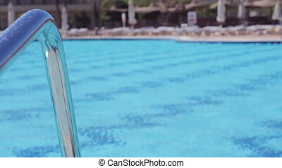 swimming pool in Egyptian hotel
