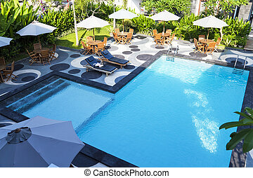 Swimming Pool - Image of a swimming pool.