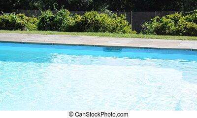 swimming pool private estate house