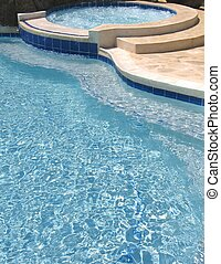 Swimming Pool - Swimming pool and jacuzzi