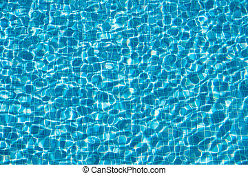 swimming pool water background - abstract pool water
