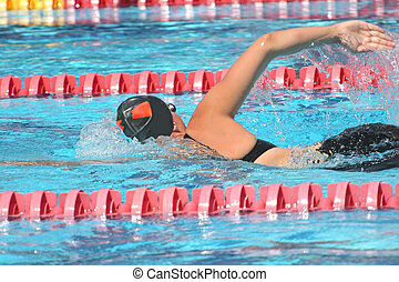 Swimming competitions