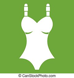 Swimsuit icon green