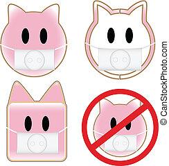 Swine Flu Pigs