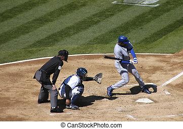 swing batter - batter at the plate