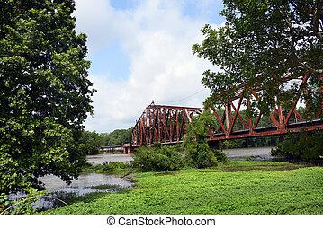 Swing-Draw Bridge Still in Operation - Swing-Draw bridge is ...