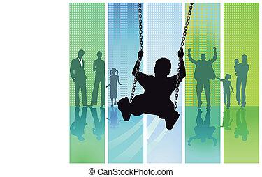 Swing fun and family
