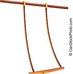 Swing - Illustration of a close up swing