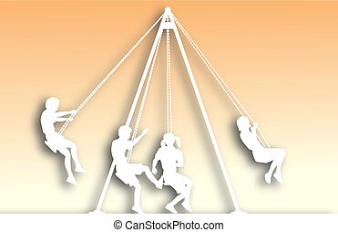 Swings cutout