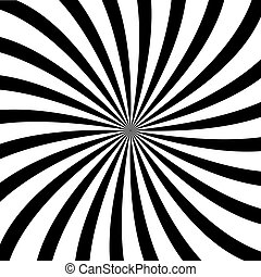 Swirl background. Rotating spiral