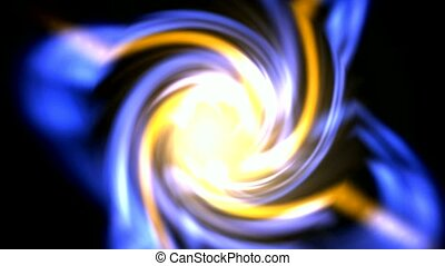 swirl dazzling ray light and fire