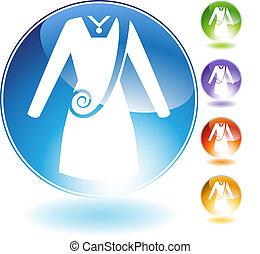 Swirl Dress Crystal Icon