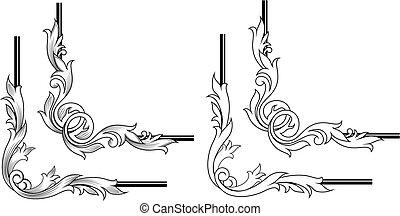 Swirl elements