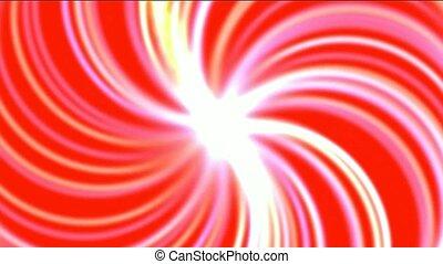 swirl fiber optic and rays light