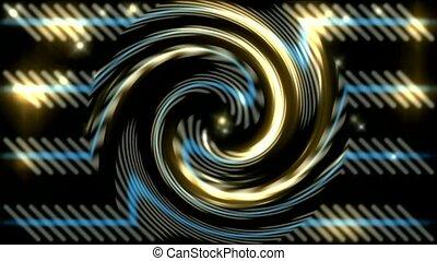 swirl fire light