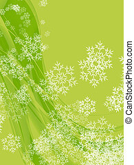 Swirl Flakes Background