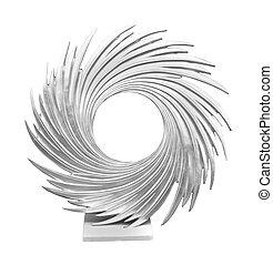 Swirl frame