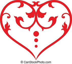 swirl, hjerte