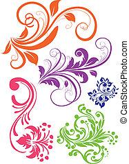 swirl mønster, vektor