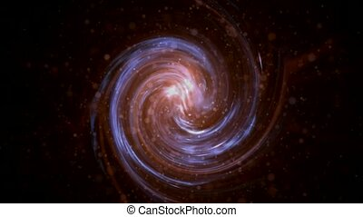 swirl Milky Way, Galaxy