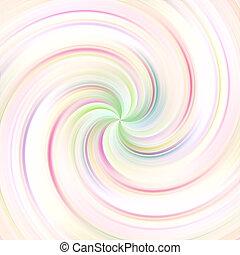 swirl, pastel