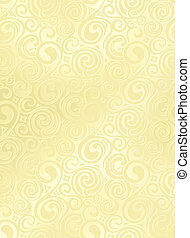 Swirl Pattern, Vector Background