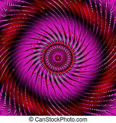 swirl purple abstract