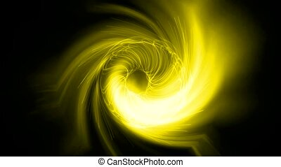 swirl rays light around god eye.east TaiChi energy.