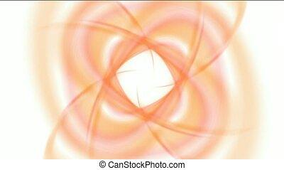 swirl smooth silk shaped flower