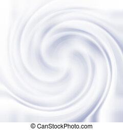 swirl, tekstur, fløde