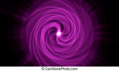 swirl tunnel hole and ripple pulse