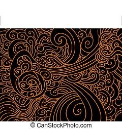 Swirling Wave Pattern