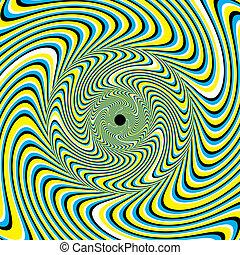 swirlpool, (motion, illusion)